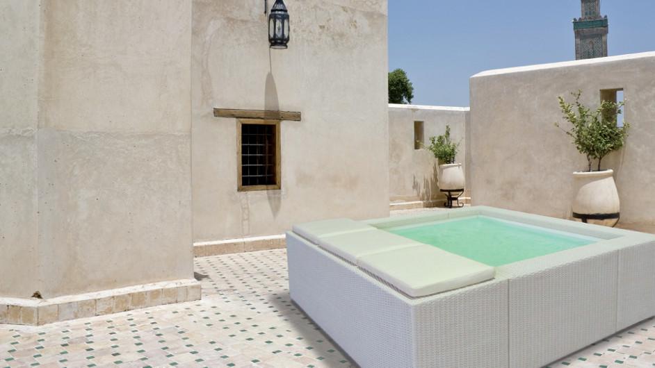 Mallorca Luxus Whirlpool Dach