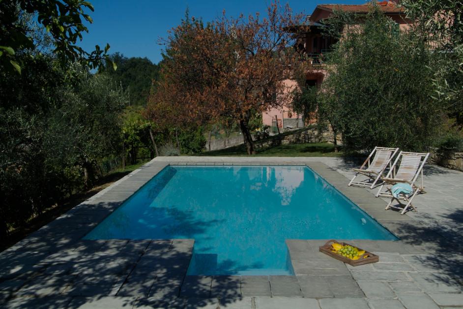 Ebenerdiger Pool Mallorca