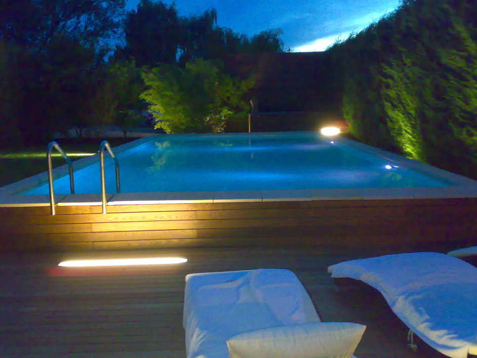 Swimming Pool Mallorca Nacht