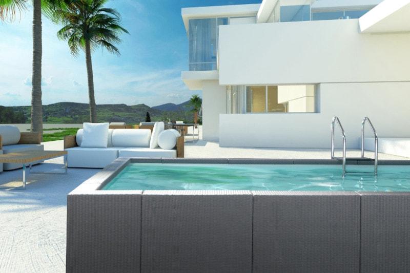 Aufstellpool Ibiza